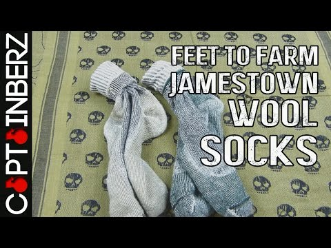 Farm to Feet Jamestown Wool Socks