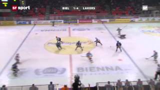 Gambar cover EHC Biel vs SC Rapperswil-Jona Lakers | Tyler Seguin's first Game in Switzerland | Highlights