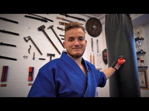 Andrin Wellenzohn - Interview & Martial Arts Demonstration