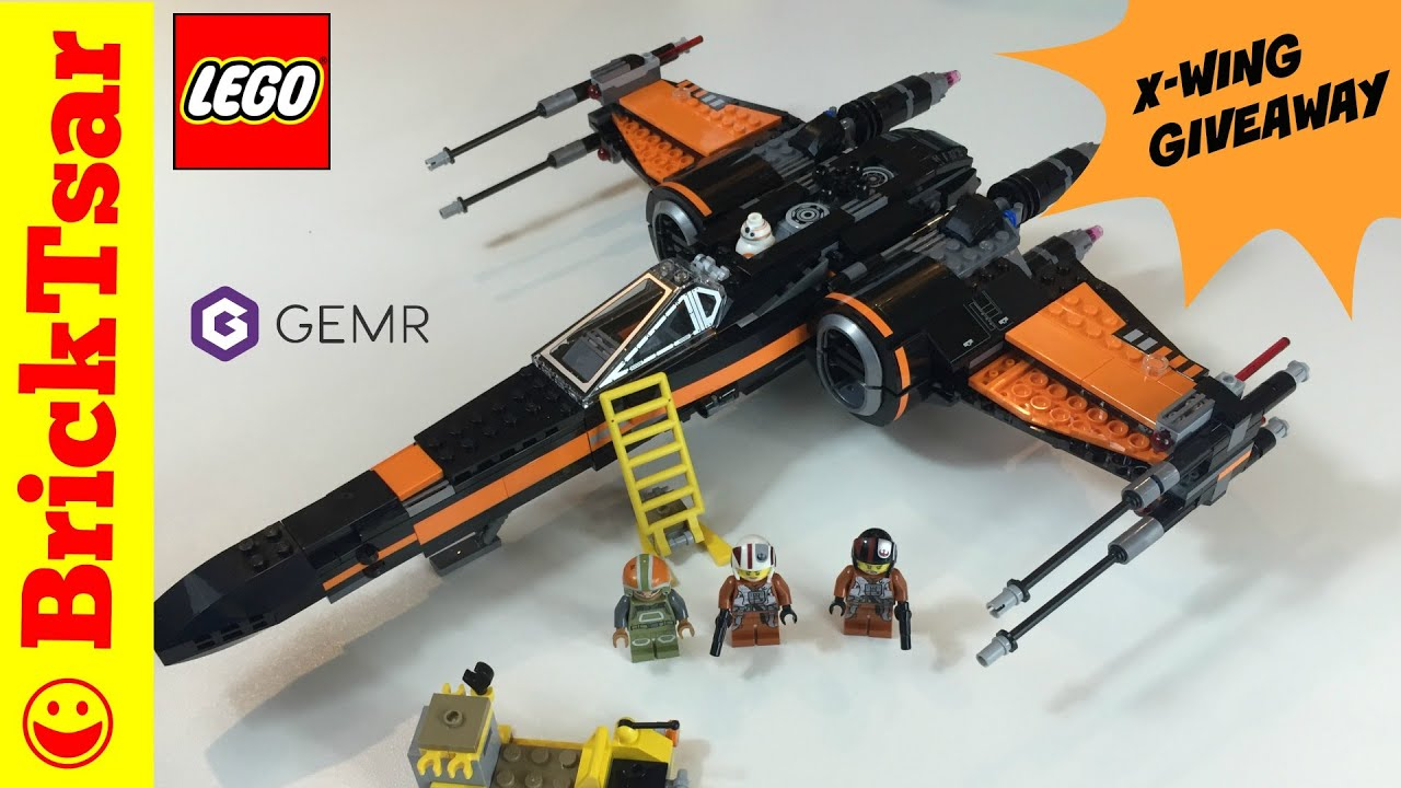 lego star wars poe u0027s x wing fighter giveaway by gemr closed