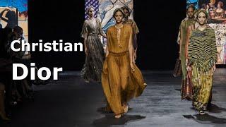 Christian Dior spring 2021 Модная весна лето в Париже Стильная одежда и аксессуары
