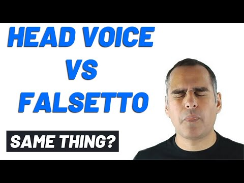 Falsetto vs Head Voice - Learn How to Sing