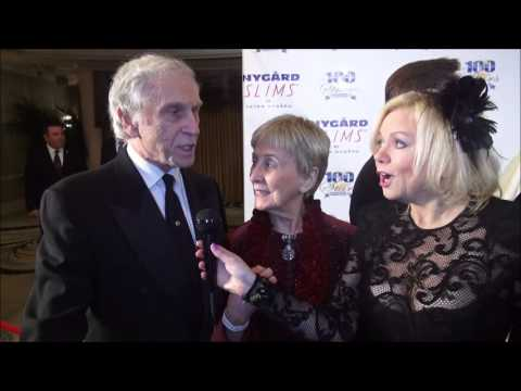 Peter Mark Richman & wife Helen share secret to 60 yrs 2gether at Oscar's Nt of 100 stars!