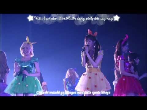 [Vietsub + Kara] Not Alone (Live) @ SNSD Japan 2nd Tour