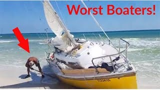 WORST BOATERS OF THE YEAR !