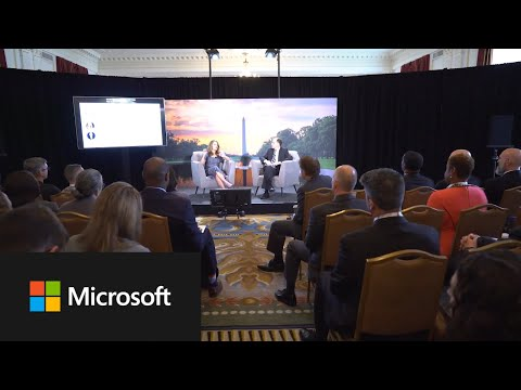 Microsoft At The Government Leaders Summit 2019 Event