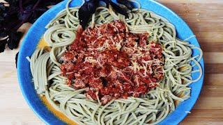 Как Приготовить Спагетти Болоньезе. Домашний рецепт