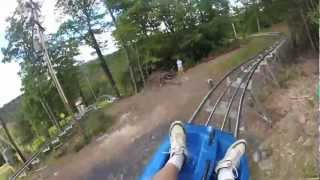 NEW MOUNTAIN COASTER - CBK MOUNTAIN ADVENTURES CAMELBACK 2012