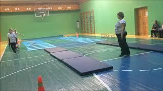 Фрагмент урока Гимнастика Совершенствование акрабатических упражнений