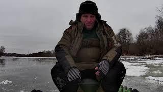 Зимняя рыбалка на реке Клязьма 13 12 2020