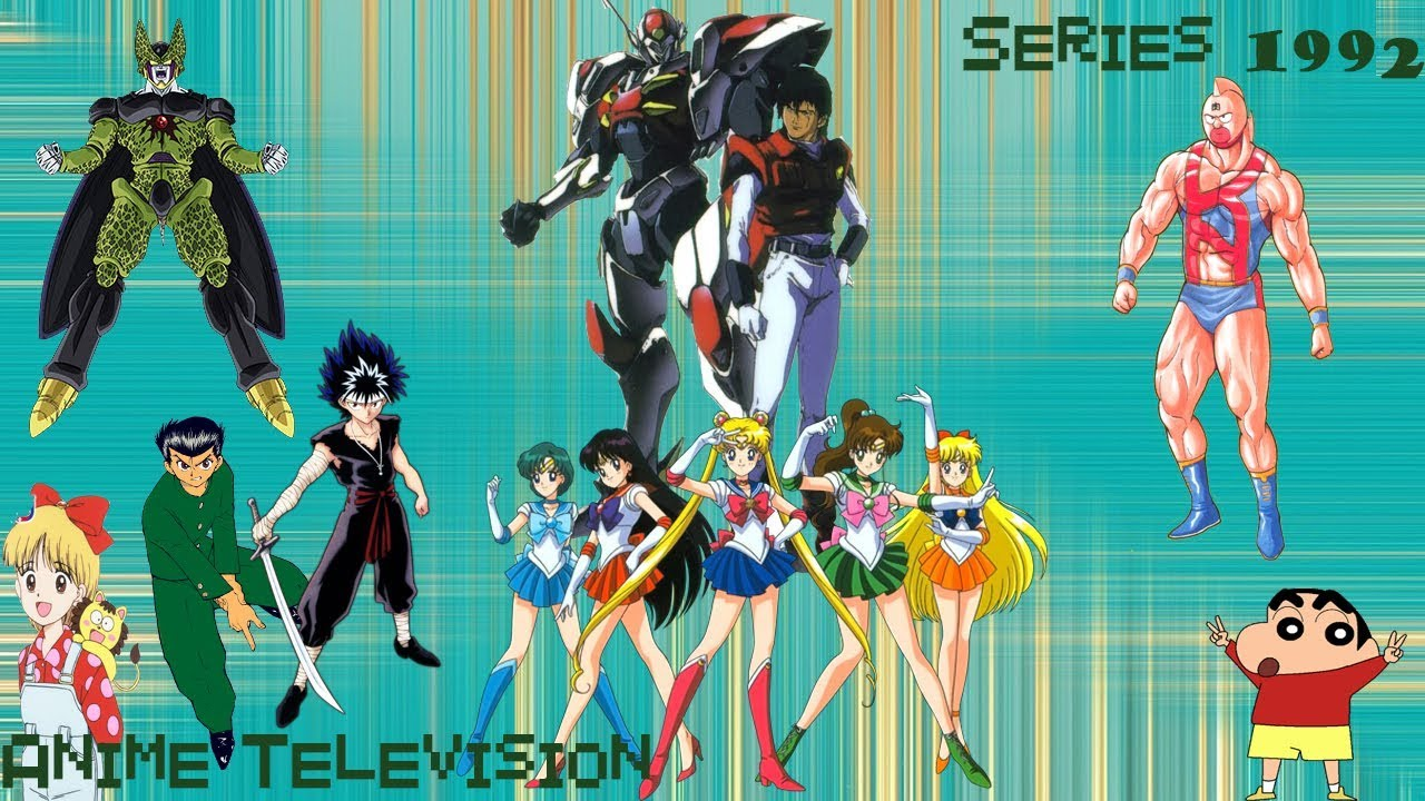 Top Animes By Years Anime Television Series 1992