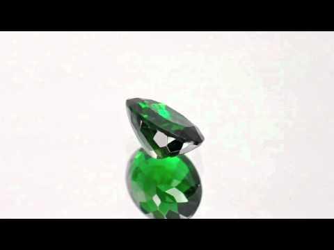 1.95-Carat Eye-Clean Dark Green Tsavorite Garnet from Kenya