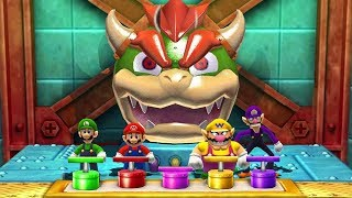 Mario Party The Top 100 MiniGames - Mario Vs Luigi Vs Wario ...
