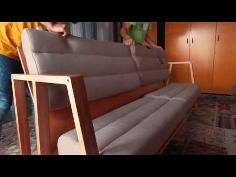 Save Some Space with the 3Moods Transformable Couch