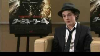 Anton Yelchin Terminator Salvation Japan Interview