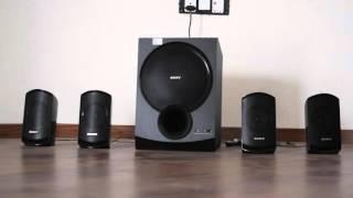Sony SA-D100 Sound Test