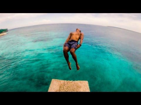 138   SIQUIJOR ISLAND CLIFF JUMPS & FLIPS!!! YOLOOOOO!!!! (Southeast Asia Travel VLOG)