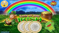 Luck o the Irish Slot Machine - BIG SPIN!!!