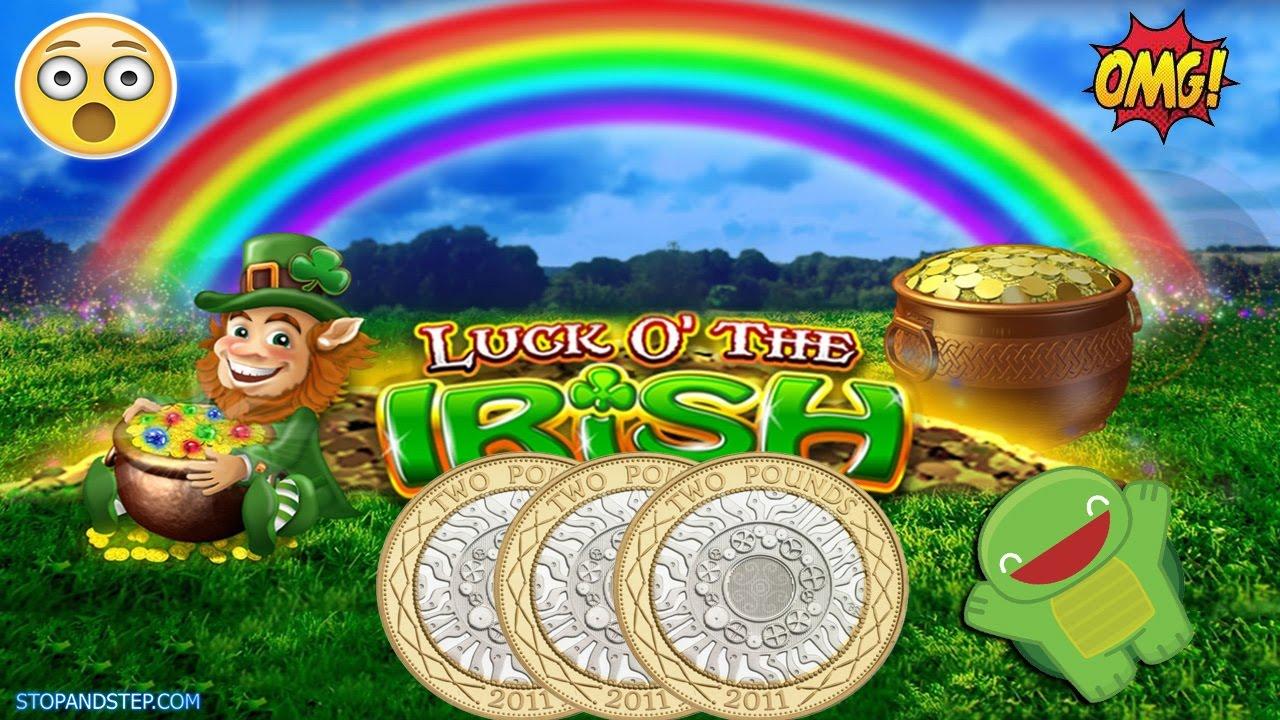 Luck o the Irish Slot Machine - BIG SPIN!!!