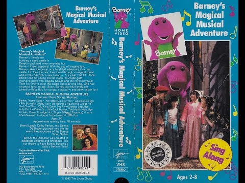 Barney's Magical Musical Adventure (1993) [VHS] full in HD