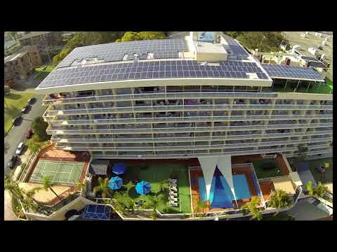 Port Pacific Resort Port Macquarie - Solar Installation