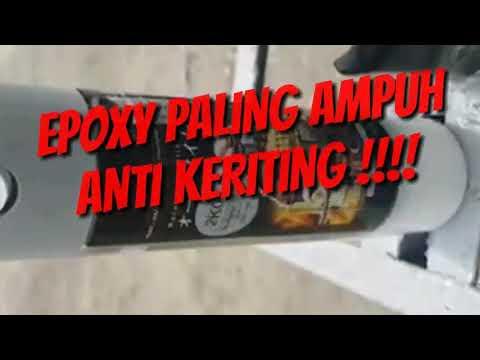 EPOXY PALING AMPUH ANTI KERITING SAMURAI PAINT!!! - YouTube