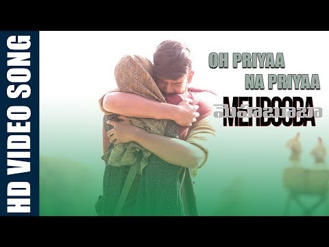 Oh Priyaa Na priyaa Video Song  | Mehbooba Songs | Puri Jagannadh , Akash Puri , Neha Shetty
