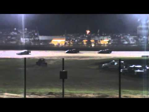 Lake Ozark Speedway Pro Crate Late Model Feature-8/21-2010