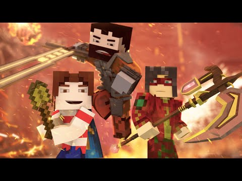 """""""Me Against The World"""" - A Minecraft Original Music Video ♪"""