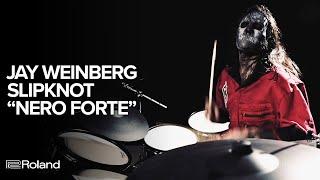 "Jay Weinberg (Slipknot) ""Nero Forte"" Playthrough on Roland VAD506"