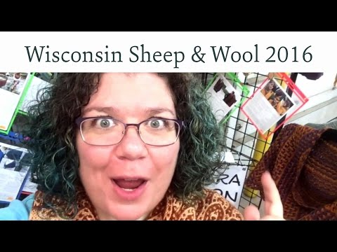 Shop with me: Wisconsin Sheep and Wool Festival 2016