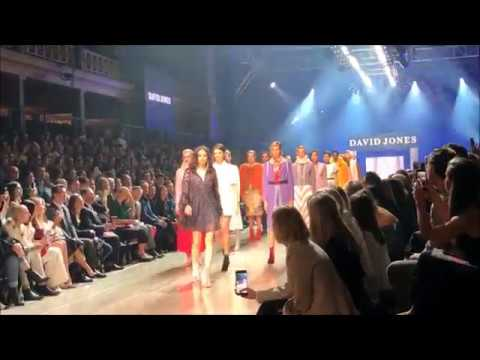 Montana Cox and Jessica Gomes Virgin Australia Melbourne fashion festival VAMFF
