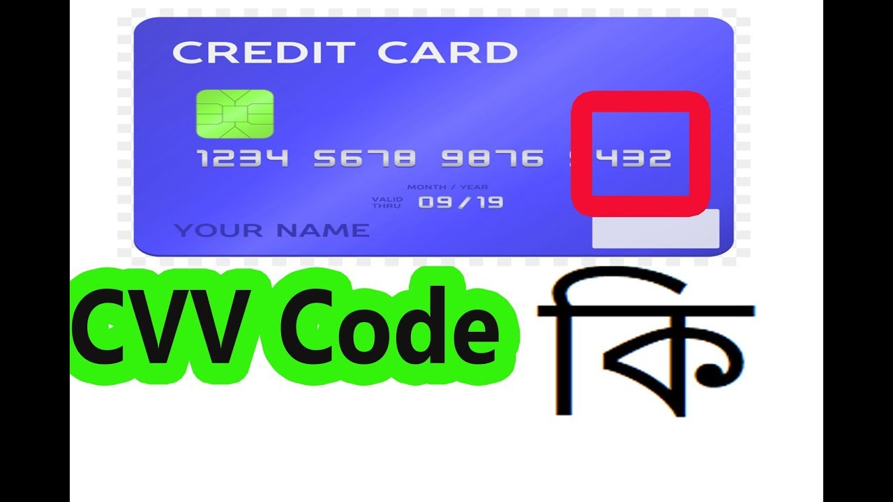 What Is Cvv Code ? MasterCard , Debit Card , Visa Card