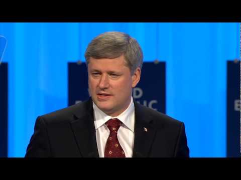 Davos Annual Meeting 2010 - Stephen Harper, Prime Minister of Canada