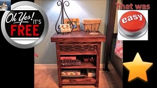 Top 15 free wood projects/Reclaimed Wood Furniture