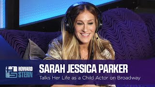Sarah Jessica Parker Got the First Role She Audition for on Broadway at 8 Years Old (2016)