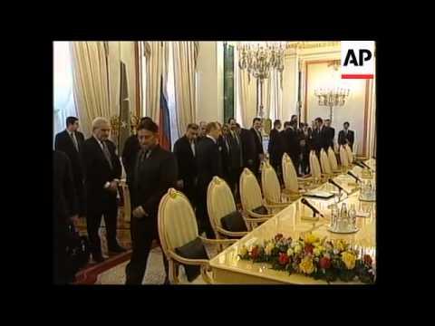 Musharraf meets Putin for regional talks