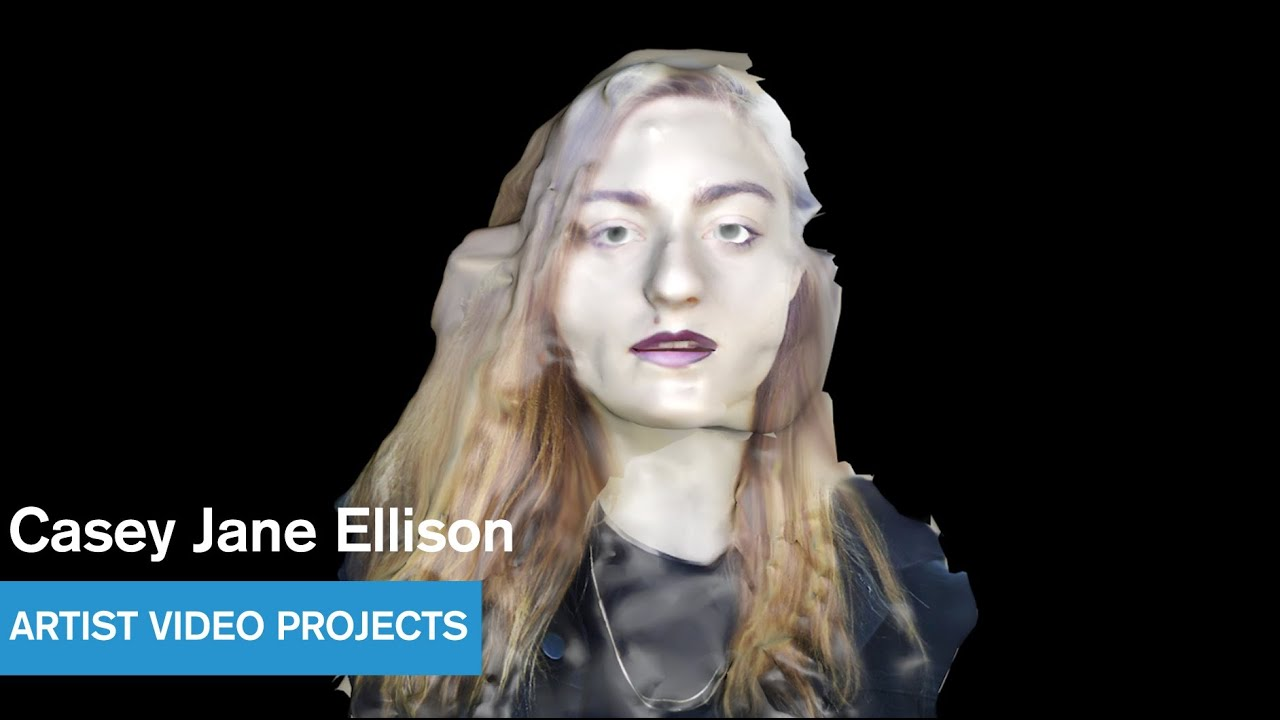 【Paradisebirds model】 casey Casey Jane Ellison - Aboveground Animation Intro - Artist Video Projects -  MOCAtv - YouTube