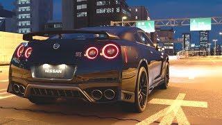 1000馬力のGT-Rは首都高で何キロ出るかな GTスポーツ thumbnail