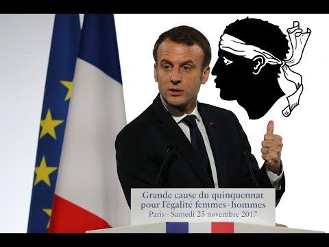 Emmanuel Macron fera face aux Nationalistes Corses !