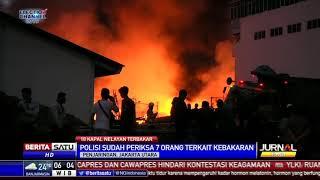 7 Saksi Diperiksa Kasus Kebakaran Kapal di Pelabuhan Muara Baru