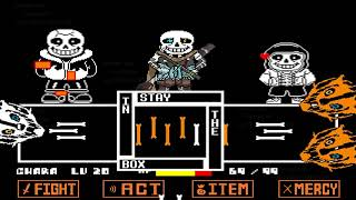 Undertale Ink Sans Full Fight (Version 0.30)