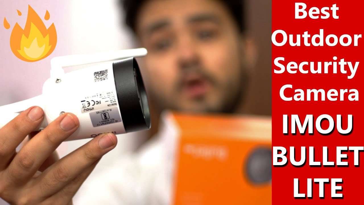 Dahua IMOU Bullet Lite - Outdoor Security Camera - Best Security Camera? In Hindi 📷🔥