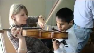 """""""Musica para el alma"""" Escuela """"Santa Cecilia"""" (Niños Ciegos)"""