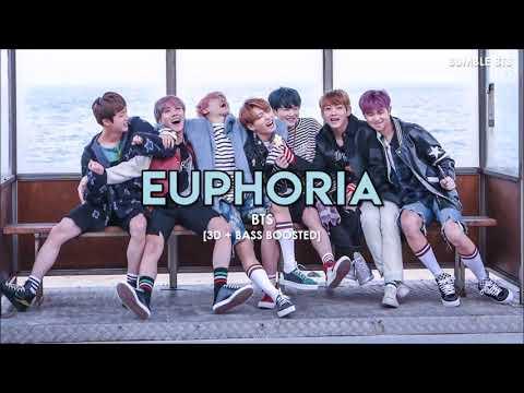 [3D+BASS BOOSTED] BTS (방탄소년단) - EUPHORIA (FAN EDITED VER.)   bumble.bts