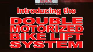 Power Rax Double Motorized Bike Lift System