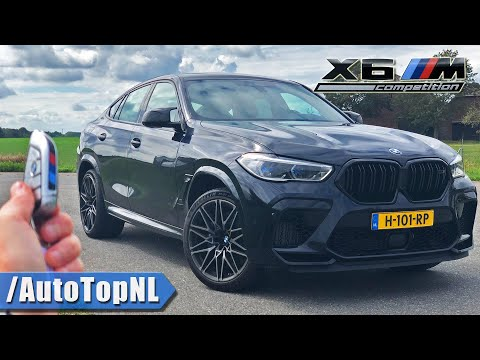 BMW X6M Competition REVIEW on AUTOBAHN [NO SPEED LIMIT] by AutoTopNL