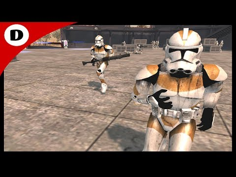 LOWER THE BLAST DOORS! ~ Desperate Clone Defense - Star Wars Republic Commando #2