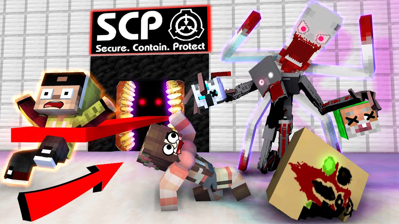 ANIMASI SCP 9999 DAJJAL ! LEVINA DI CULIK P3MBUNUH SCP PINTU LIDAH BERACUN! - Minecraft Animation