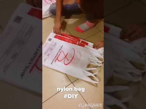 DIY nylon bag